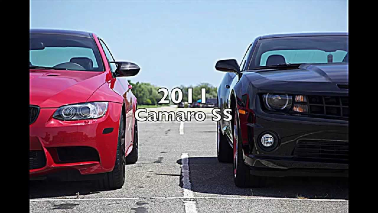 bmw (e92) ///m3 meisterschaft vs camaro ss rev battle (hd) - youtube