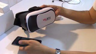 VR BOX Ucuz Sanal Gerçeklik Gözlüğü Kutu Açılımı ve İlk Deneyim