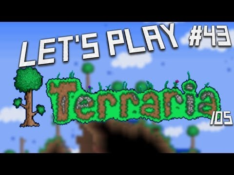 Let's Play Terraria IOS Edition- Aquarium! Episode 43