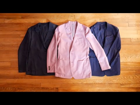 First Look Review: Bonobos New Unconstructed Wool and Cotton Blazers