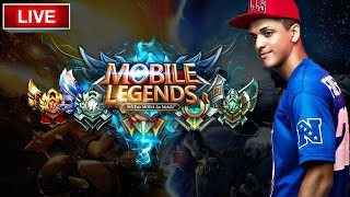 MOBILE LEGENDS AO VIVO / COMPRANDO HELCURT RANKED