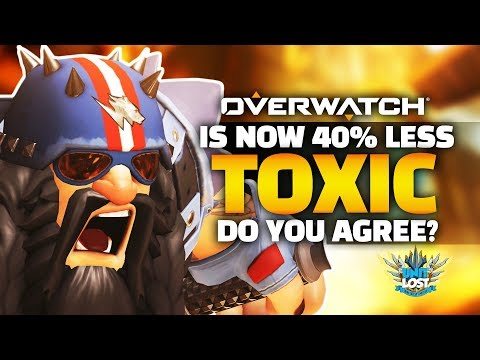 Overwatch is 40% LESS TOXIC! thumbnail