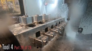 "UMC-750P & Rotary Fixturing - ""28 Part"" Demo - Haas Automation Inc."