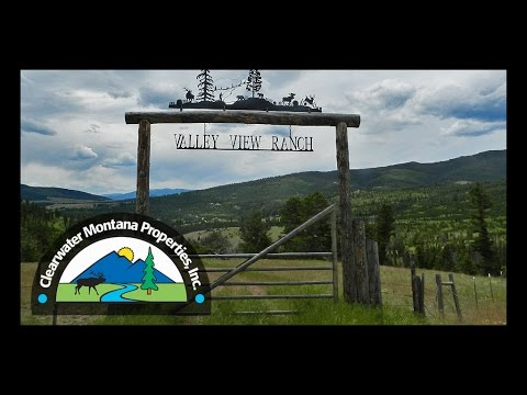 Montana Real Estate: Valley View Ranch, Philipsburg