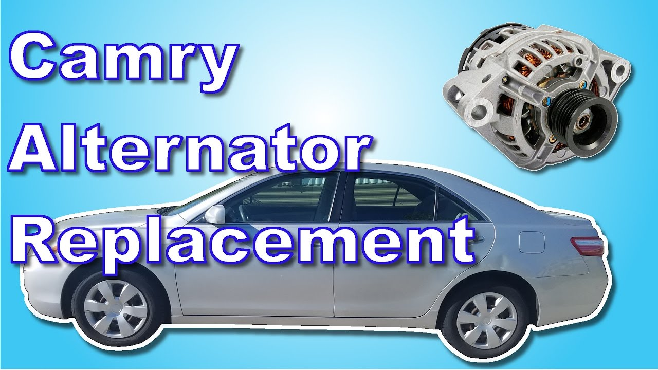 2007 Toyota Camry Alternator Replacement - YouTube