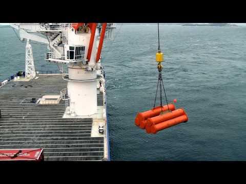MacGregor 250t crane on Southern Ocean Seatrial