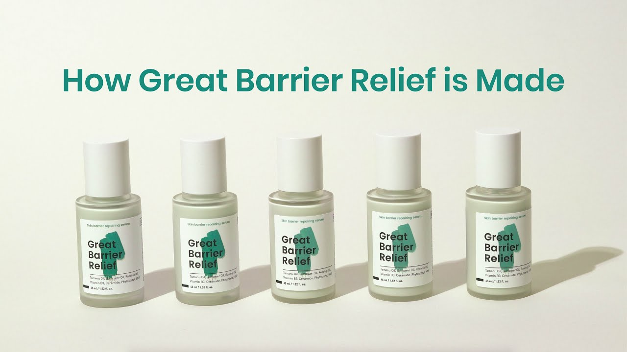🌊How KraveBeauty Great Barrier Relief is made