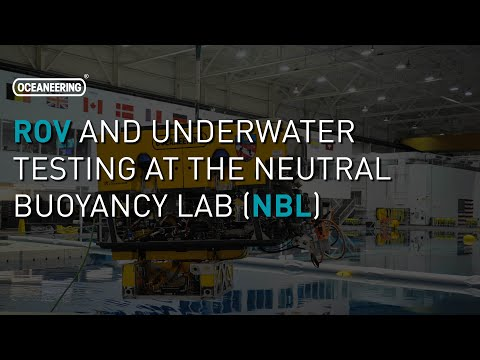 ROV and Underwater Testing at the Neutral Buoyancy Lab (NBL) | Oceaneering