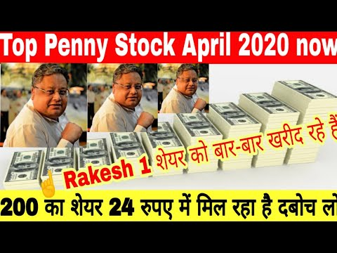 Rakesh Jhunjhunwala Penny Stocks April 2020 | Multibagger Stock Portfolio of Rakesh Jhunjhunwala