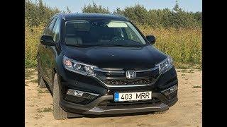 Разгром Honda CR V отзыв владельца после 10 000 км / Хонда СРВ