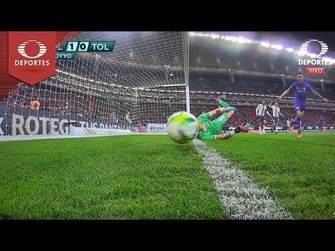 Polémica jugada de Toluca | Chivas 1 - 0 Toluca | Clausura 2019 - Jornada 3 | Televisa Deportes