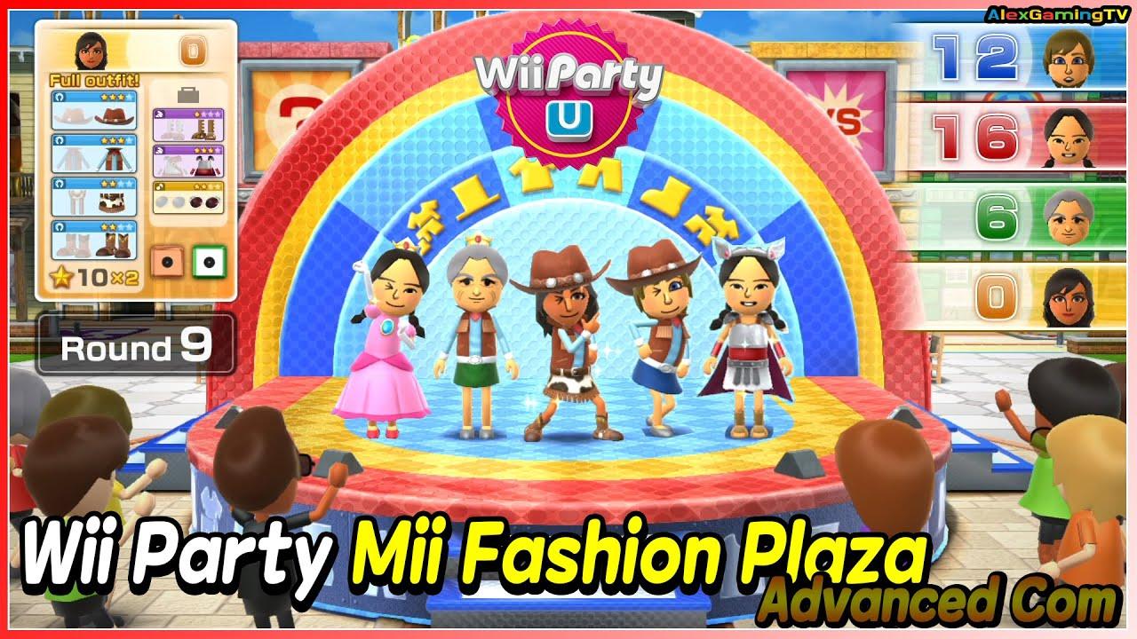 Wii Party U - Mii Fashion Plaza (Advanced Com)? Rayna vs Xiao-Tong vs Mi-Sun vs Cristina