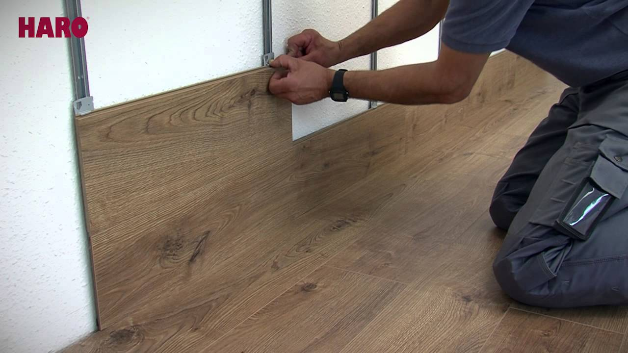 Installation instructions for Floor on the Wall  HARO