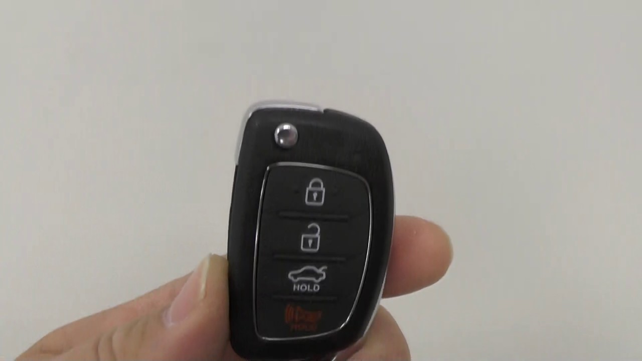 2017 Hyundai Sonata Ignition Key Fobs Youtube