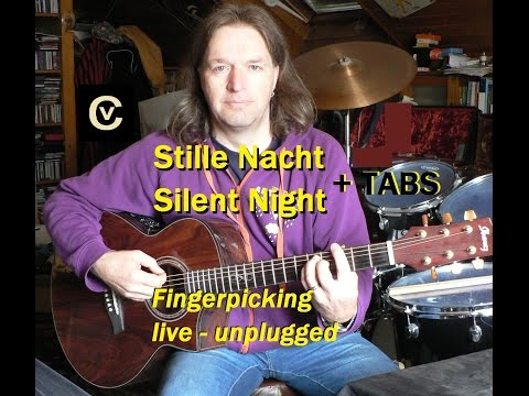 Stille Nacht - Silent Night Fingerpicking + Tabs