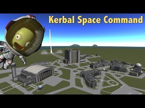 Kerbal Space Command Live stream!
