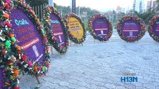 Silletas de la Feria de las Flores serán enviadas a hospitales del país