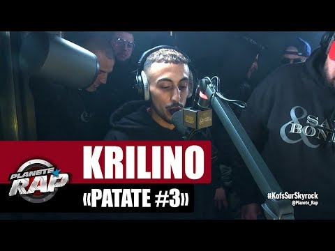 Youtube: [Exclu] Krilino « Patate #3 » #PlanèteRap