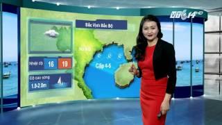 (VTC14)_Thời tiết Biển ngày 29.11.2015