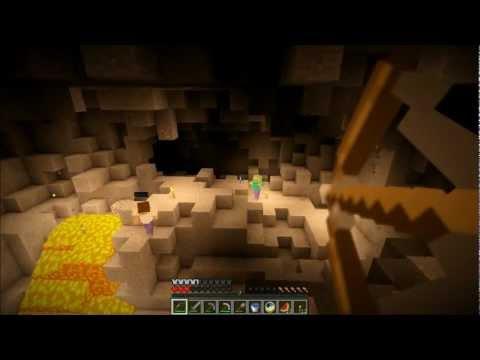"""Смотреть прохождение игры Minecraft - Затерянный остров. Серия 4: """"Пещера.."""""""