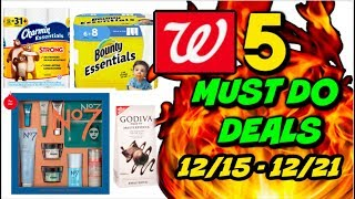 5 MUST DO WALGREENS DEALS 12/15 - 12/22   HOT NEW WAY TO SAVE 💲