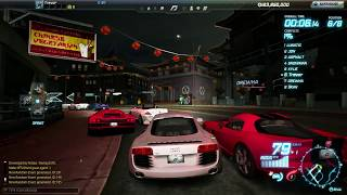 Need for Speed World: Gameplay