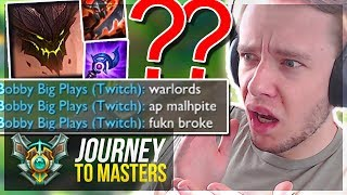 MOST TROLL GAME I'VE EVER PLAYED..ft. METEOS! MASTERS PLZ! - Journey To Masters | League of Legends