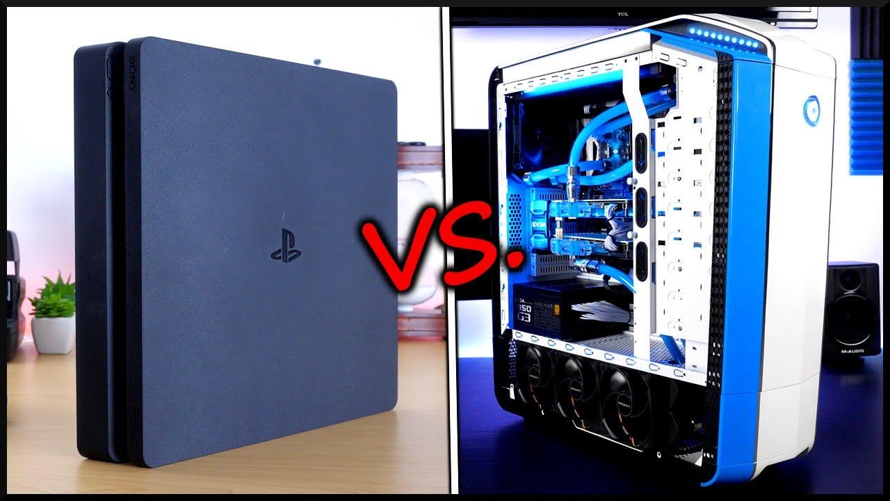 PS4 vs. $5000 Gaming PC! - YouTube