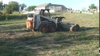 J & J Portable Sawmills - Site Preparation For Woodmizer Lt70