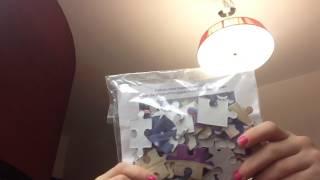 Распаковка игрушек из самолета:аэрофлот
