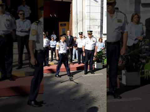 Paraná tiene nuevo jefe de la Departamental de Policía Parte 03