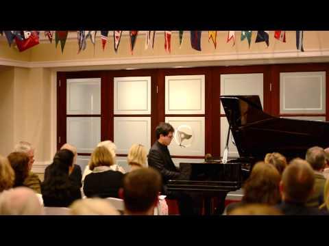 Aza Sydykov plays Rachmaninoff Musical Moment N.1