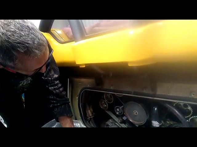 Distribution Ferrari 360 Modena Spider Jaune
