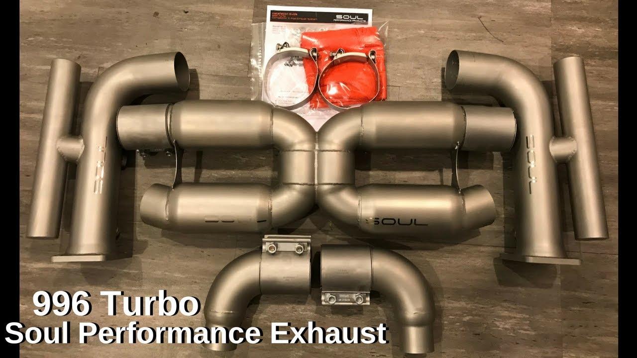soul performance exhaust install porsche 911 turbo 2005 996 turbo s