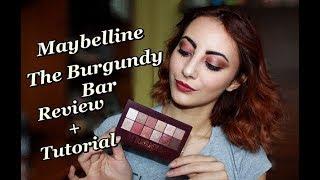 Maybelline The Burgundy Bar Ревю + Грим урок