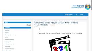 Download Media Player Classic Home Cinema 1.7.7.128 Beta