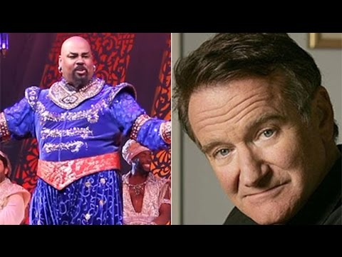 Aladdin Broadway cast's tribute to Robin Williams
