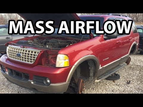 DIY How to Remove Replace Mass Air Flow (2004-2011 Ford Explorer Ranger)