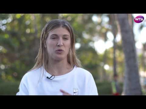 Genie Bouchard | 2017 Acapulco Pre-Tournament Interview