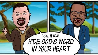 HIDE GOD'S WORD IN YOUR HEART! Scripture Song - Psalm 119:11