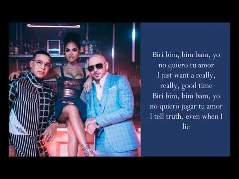 No Lo Trates ft Natti Natasha - Pitbull & Daddy Yankee -
