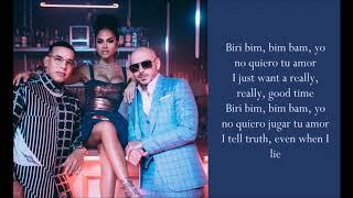 Download lagu No Lo Trates ft. Natti Natasha - Pitbull & Daddy Yankee - (Lyrics)