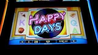 WMS - Happy Days!  Max Bet!
