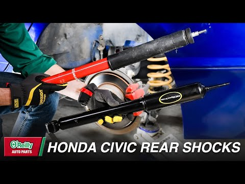 How To: Replace the Rear Shocks on a 2006-2011 Honda Civic