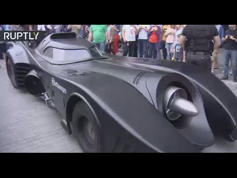 Batman in Russia? This epic Batmobile just turned up in Moscow