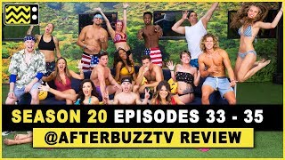 Big Brother Season 20 Episode 33 - 35 Review & After Show