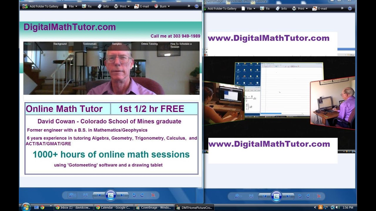 precalculus tutoring online Connect with a live, online trigonometry tutor available 24/7 through video, chat, and whiteboards get live trigonometry help from university experts.