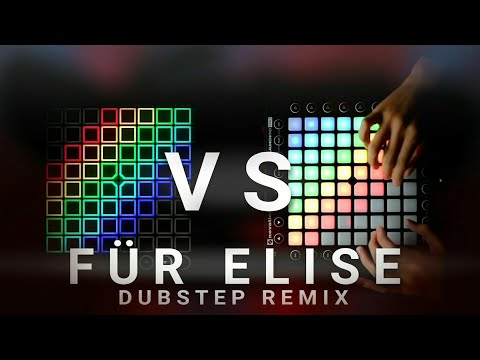 Launchpad VS UniPad  Für Elise Dubstep Remix  UniPad Remake Same as Launchpad