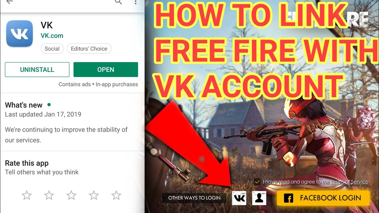 HOW TO LINK YOUR FREE FIRE WITH VK ACCOUNT || QUESTION AND ANSWER ||  IGNITION GAMER