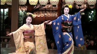 舞妓さん「祇園小唄」  Maiko Dancing .wmv
